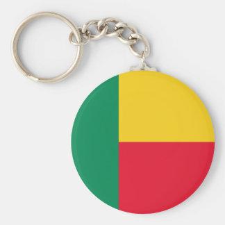 Benin National World Flag Key Ring