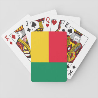 Benin National World Flag Playing Cards
