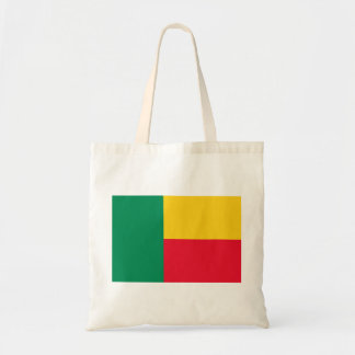 Benin National World Flag Tote Bag