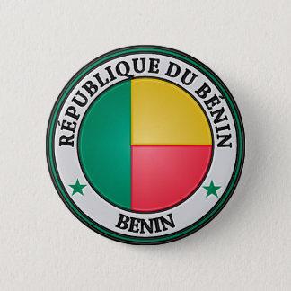 Benin  Round Emblem 6 Cm Round Badge