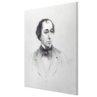 Benjamin Disraeli, 1st Earl Beaconsfield Canvas Prints