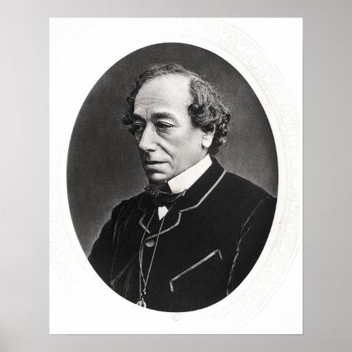 Benjamin Disraeli  c.1874 Poster