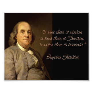 Benjamin Franklin Quotes Art Photo
