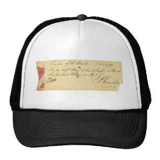 Benjamin Franklin Signed Check October 2, 1787 Cap