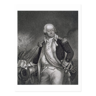 Benjamin Lincoln (1733-1810) (engraving) Postcard