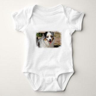 Bennett - Aussie Mini - Rosie - Carmel Beach Baby Bodysuit
