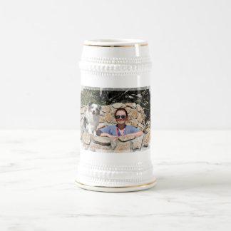 Bennett - Aussie Mini - Rosie - Carmel Beach Beer Stein