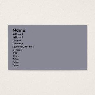 Bennett - Aussie Mini - Rosie - Carmel Beach Business Card