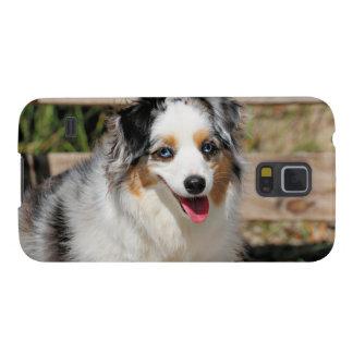 Bennett - Aussie Mini - Rosie - Carmel Beach Case For Galaxy S5