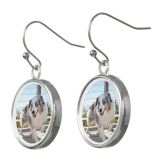 Bennett - Aussie Mini - Rosie - Carmel Beach Earrings