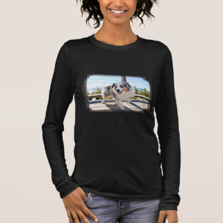 Bennett - Aussie Mini - Rosie - Carmel Beach Long Sleeve T-Shirt