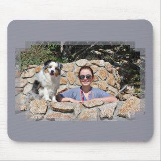 Bennett - Aussie Mini - Rosie - Carmel Beach Mouse Pad