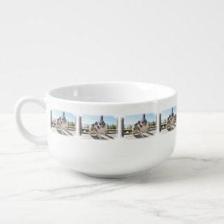 Bennett - Aussie Mini - Rosie - Carmel Beach Soup Mug