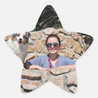 Bennett - Aussie Mini - Rosie - Carmel Beach Star Sticker
