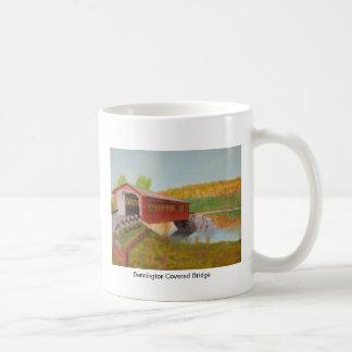 Bennington Covered Bridge Basic White Mug