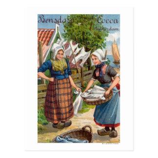 Bensdorp s Royal Dutch Cocoa Post Cards
