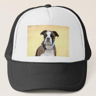 Benson the Boxer dog Trucker Hat