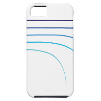 Bent Fishing rod vector curved rod blanks Tough iPhone 5 Case