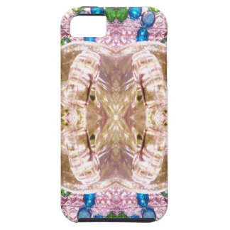 Bent Glass Matching Wedding Rings iPhone 5 Case