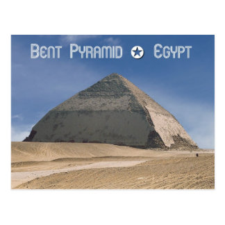 Bent Pyramid at Dahshur, Egypt Postcard