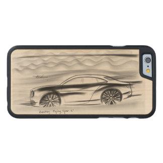 Bentley design carved® maple iPhone 6 slim case