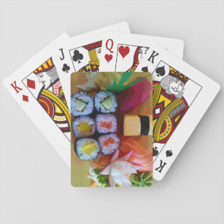 Bento Box and Sushi Playing Cards
