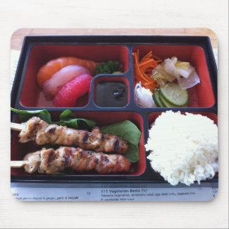 Bento Box Sushi Japanese Rice Food Mouse Pad