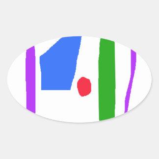 Bento Lunchbox Oval Sticker