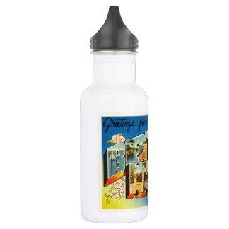 Benton Harbor Michigan MI Vintage Travel Souvenir 532 Ml Water Bottle