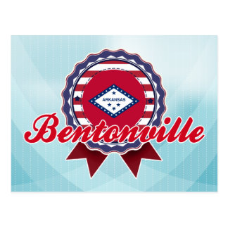 Bentonville, AR Postcard