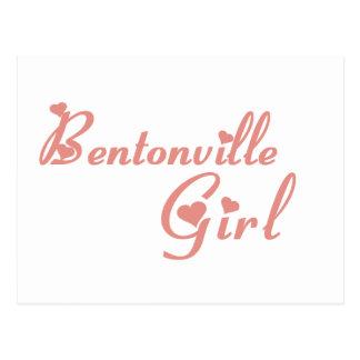 Bentonville Girl tee shirts Postcard