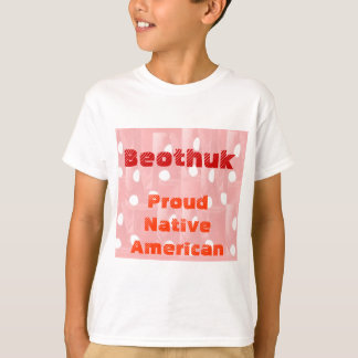 BEOTHUK : Proud Native Americans Tee Shirt