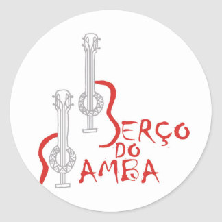 Berço do Samba Round Sticker
