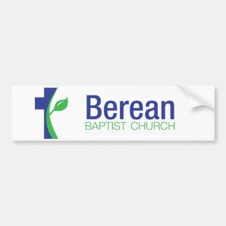 Berean Baptist church bumper sticker