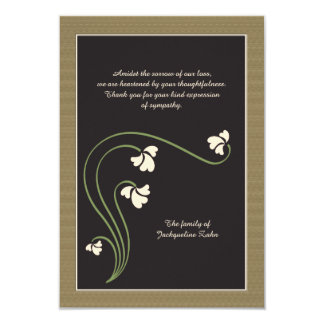 Bereavement Thank You Card