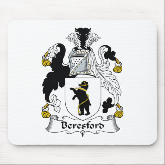 Beresford Family Crest Mouse Pad