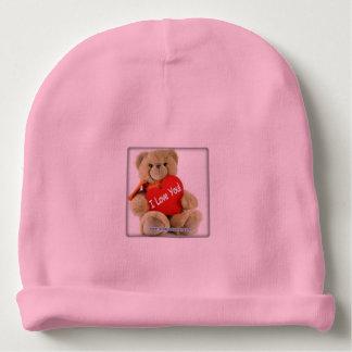 beret bear baby beanie
