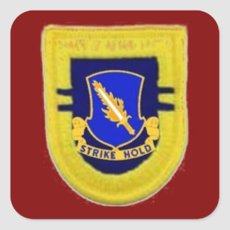 Beret Flash/DUI 2/504th Infantry Stickers