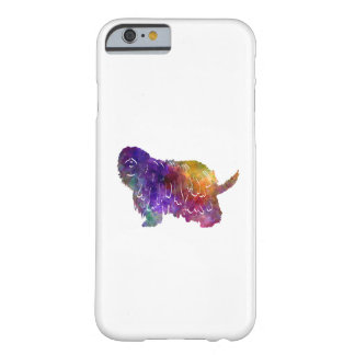 Bergamasco Shepherd in watercolor Barely There iPhone 6 Case