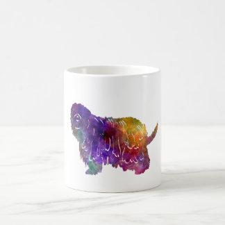 Bergamasco Shepherd in watercolor Coffee Mug