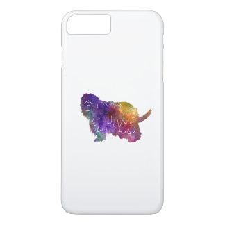 Bergamasco Shepherd in watercolor iPhone 8 Plus/7 Plus Case