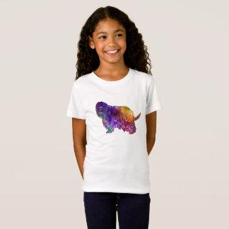 Bergamasco Shepherd in watercolor T-Shirt