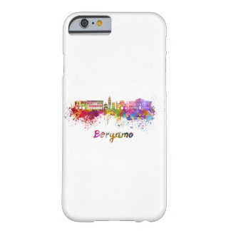 Bergamo skyline in watercolor barely there iPhone 6 case