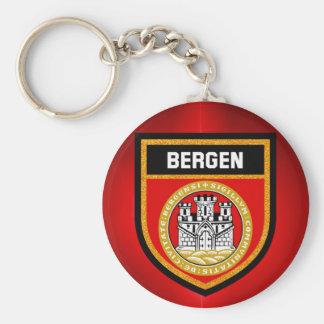 Bergen Flag Key Ring