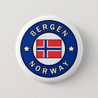 Bergen Norway 6 Cm Round Badge