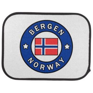 Bergen Norway Car Mat