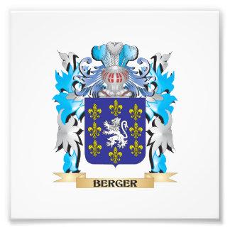 Berger Coat of Arms Art Photo