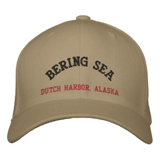 Bering Sea Dutch Harbor Alaska Embroidered Baseball Caps