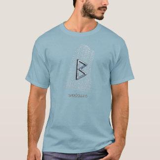 Berkano rune on west Rok runestone T-Shirt