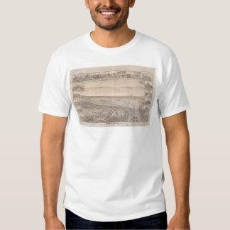 Berkeley, CA. Panoramic Map 1891 (0099A) - Unrest. T Shirt